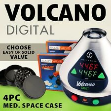 NEW Volcano Digit w/Easy or Solid Valve + 4 pc. Space Case grinder Ti Digital