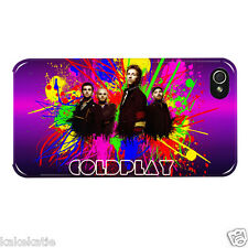 Coldplay iphone 4 4s white hard back case skins cover for i phone Chris Martin
