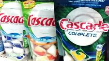 16-20ct Cascade Dishwasher Pods    4 Choices