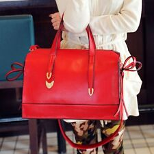 Hot Fashion Womens Faux Leather Shoulders Handbags Tote Bag Messenger Satchel Ca