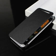 Leather For HTC ONE M7 Case Flip Cover Skin PU Book-Style Hard Back Pouch Luxury