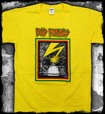 Bad Brains - Capitol logo yellow t-shirt - Official - FAST SHIP