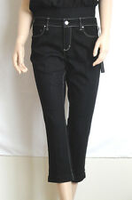 WHBM New Women BLANC SLIM CROPPED BLACK JEANS In Size 6 (NWT $78.00)