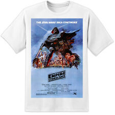 STAR WARS EMPIRE STRIKES BACK MOVIE POSTER T SHIRT - HUGE PRINT! S-3XL ROGUE ONE