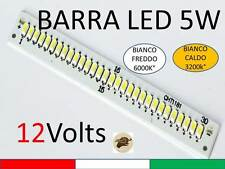 BARRA 5w LED SMD 12v lampada mr16 Barca Camper Pullman strip g4 faretto i-pad s4