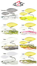 RIVER2SEA CRYSTAL SPIN SPINNERBAIT 3/8 OZ. various colors