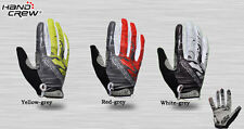 New HANDCREW Cycling Bike Bicycle Motorcycle Sports Racing FULL finger Gloves