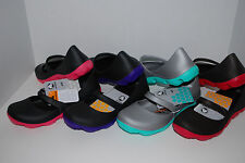 NWT CROCS DUET SPORT MARY JANE SHOES 6 7 8 9 10 black brown espresso silver grey