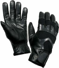Cold Weather Black Military Shooting Gloves - ThermoBlock W/Waterproof Insert
