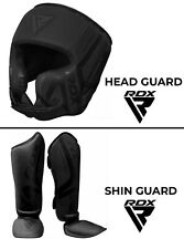 Auth RDX Gel MMA Grappling Gloves Boxing Hand Wraps Punch Bag Fight UFC Pad US