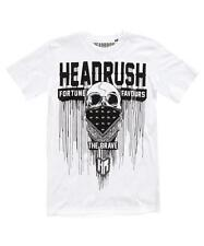 HEADRUSH BLEEDING BANDIT T-SHIRT WHITE - mma bjj ufc