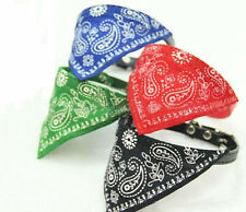Adjustable Pet Dog Cat Puppy Small Bandana Scarf Collar Neckerchief Wrap Cloth