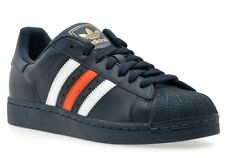 Adidas Superstar 2 Shell Toe Mens Shoes #G59929 SALE (Denver Broncos Colors)