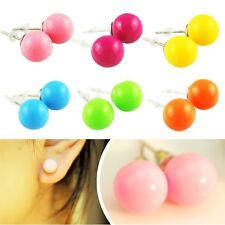 7 Color Fashion Women Bubble Cute Colorful Earring Ear Stud Candy Color