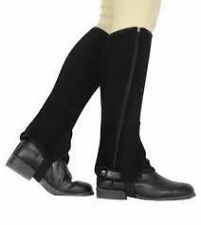 DUBLIN EASY CARE HALF CHAPS BROWN CHOOSE SIZE & COLOUR - FAST DISPATCH