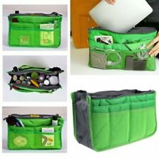UK Travel Organizer Handbag Pouch Bag in Bag Organiser Insert Cosmetic Pocket