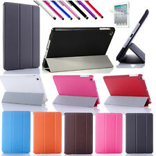 Tri-Fold Front Slim Smart Magnetic Cover Case for iPad Mini Sleep Wake w/ Stand