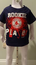 NWT MLB Adidas Boston Red Sox Rookie Player Infant Tee - Sizes 6-24 months
