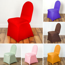 25 pcs SPANDEX High Quality Stretchable CHAIR COVERS Party Wedding Decorations