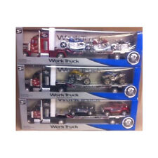 Lorry City Truck with Trailer & either Jeep, Motorbike, Quad Boys Toy Gift Chris