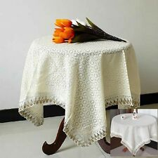 New Multifunctional Cover Towel Dining Table Cloth Fabric Tablecloth