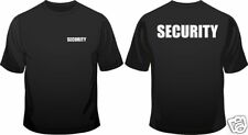 Security Staff Door Man Club In All Sizes Crew Neck Mens Loose Fit Cotton T-Shir