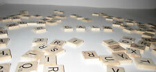 SCRABBLE LETTERS FOR CRAFTING OR REPLACEMENT - ONE TILE -FREE SHIPPING
