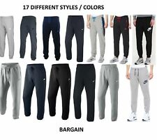 Men's Nike Fleece Tracksuit Jogging Pants/Pant Bottoms Joggers Trackies New