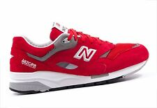 Mens New Balance classic   CM1600FR  Grey White Fire Red