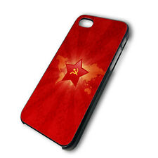 Russia cccp 3 kopeck soviet iphone 4 4g 4s & 5 5s & galaxy S3 S4 hard case cover