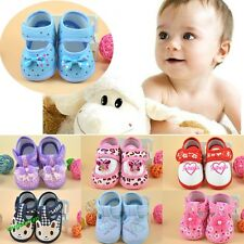 Hot Pretty Newborn Soft Baby Toddler Shoes Infant Kids Shoes 14 Styles 3 Sizes