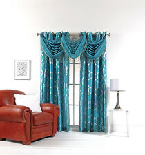 Lafayette Faux Silk Grommet Panels & Valances By Stylemaster® - Assorted Colors