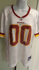 New NFL Women's Washington Redskins White Dazzle Team Jersey:  Size XL