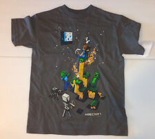 BOYS MINECRAFT STEVE CREEPER TIGHT SPOT  Licensed T-Shirt Youth NWT