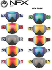 Dragon NFX Snow Goggles w Removable Nose Guard Mens Guys Boys Kids Ski Snowboard