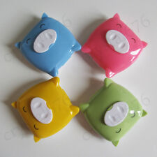 1set High Quality Lovely Pig Contact Lens Case Travel Box With Mirror
