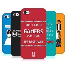 HEAD CASE DESIGNS A GAMER'S LIFE SNAP-ON BACK CASE COVER FOR APPLE iPHONE 4 4S