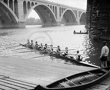 1926 WOMEN'S GIRL'S CREW ROWING TEAM GROUP PHOTO #2 Largest Size