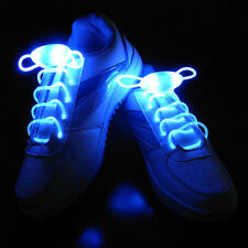 Hot Sell LED Shoelaces Shoe Laces Flash Light Up Glow Stick Strap Shoelaces New