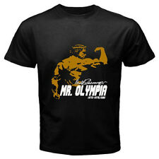 Arnold Schwarzenegger Mr. Olympia Body Building Champ Black T-Shirt Size S-3XL