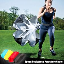 "4 Color 56"" Speed Resistance Parachute Chute Football Running Exercise Training"
