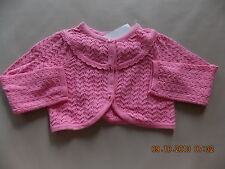 NWT Girl's Gymboree Spring Celebrations Easter pink button up sweater 2T 3T 5T