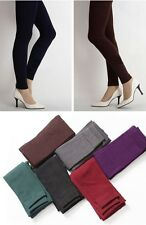 Women Winter Warm Thick Tights Skinny Stretch Leggings Pants