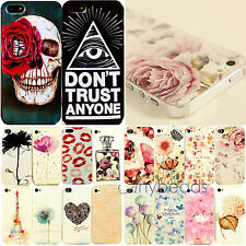 New Painted Various Pattern Phone Hard Back Skin Case Cover for IPhone4 4S 5S 5C