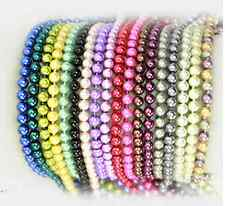 Wholesale Fashion imitation pearl knot long sweater chain necklace