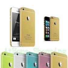 Luxury Full Body Decal Skin Sticker Wrap Case Cover For Apple iphone 5S 5 5th SE