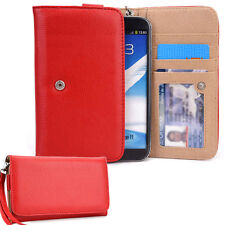 Kroo Fab SN2 Womens Red Smartphone Wrist-Let Case Cover Pouch Bag Guard