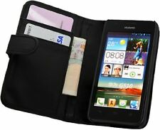WALLET Leather Flip Case Phone Cover for Huawei Ascend G510 / U8951