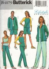 Top Shorts Jacket Pants Pattern Choice 8-18 Butterick 4079 OOP