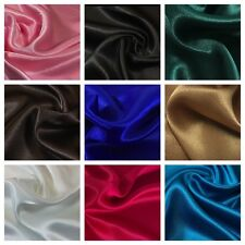 New Crepe Back Silky Satin Fabric For Weddings Bridal Prom Dance Dresses 45inch